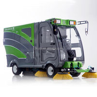 Pavement sweeper truck with good quality