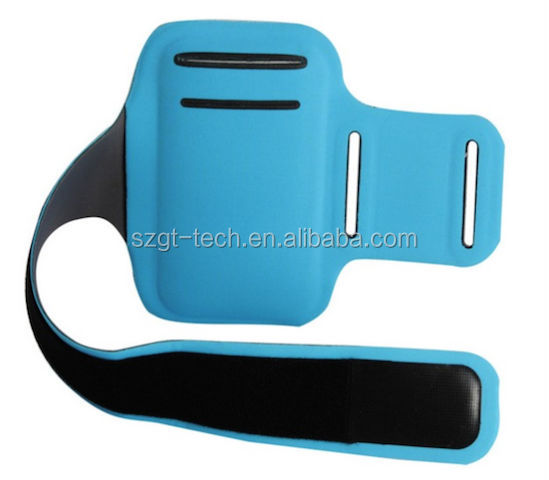Sport armband with card holder for iPhone5S with BSCI certificate