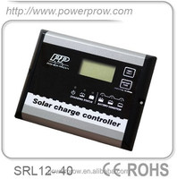 Digital 40A/12V PWM Solar Home System Charge Controller with Remote