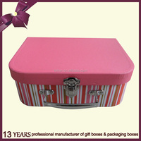 Promotional mini suitcase shaped gift box for packing
