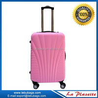 Fashionable pretty ABS+PC cheap designer luggage sets/trolley cabin luggage/eminent trolley verage suitcase with wheel luggage