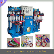 hot sale full automatic silicone wristband making machine , bracelet forming machine