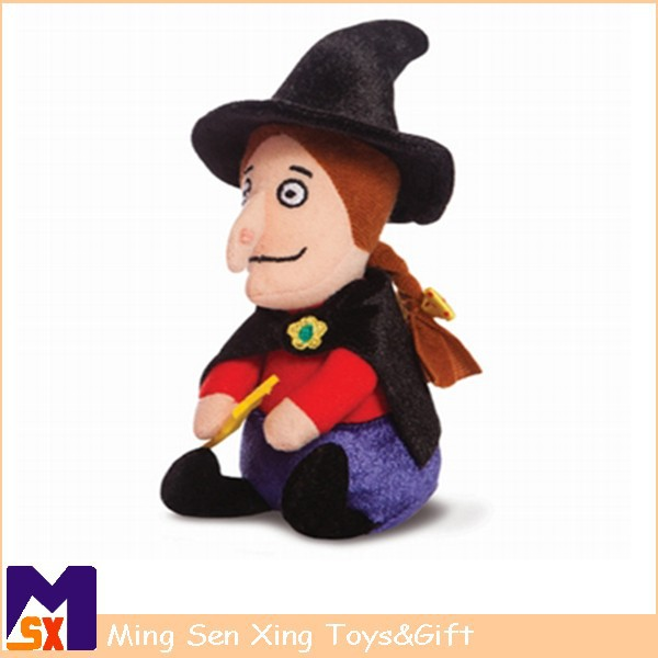 Halloween gift wholesale stuffed plush witch toy doll