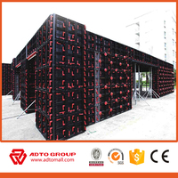 Excellent Reusable Waterproof Plastic Formwork For Column Concrete