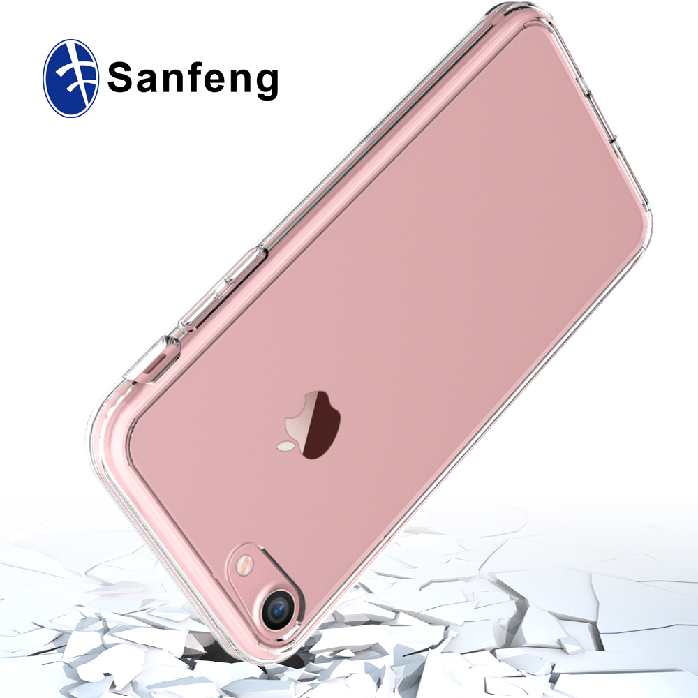 High quality mobile phone Transparent cover for Iphone 7,for iphone 7 soft TPU cover,for iphone 7 Acrylic hard case