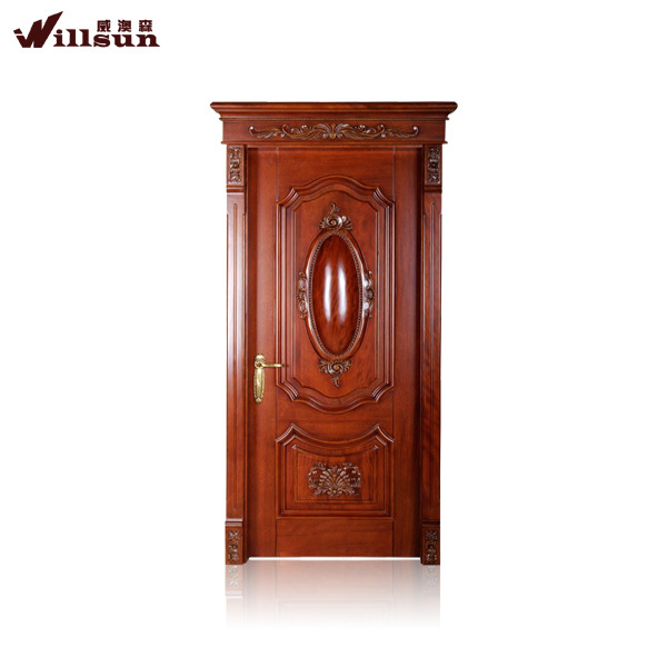 The best toughened safety timber doors wooden door frame design