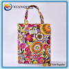 Eco-Friendly Multi Purpose Fashion Printed waterproof Canvas Beach Shoulder Tote Bag
