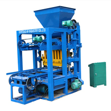 QMR4-26 Small manual hand press compressed concrete earth block brick making machine