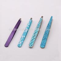 Hot selling Professional Fashion beauty care stainless steel tweezers
