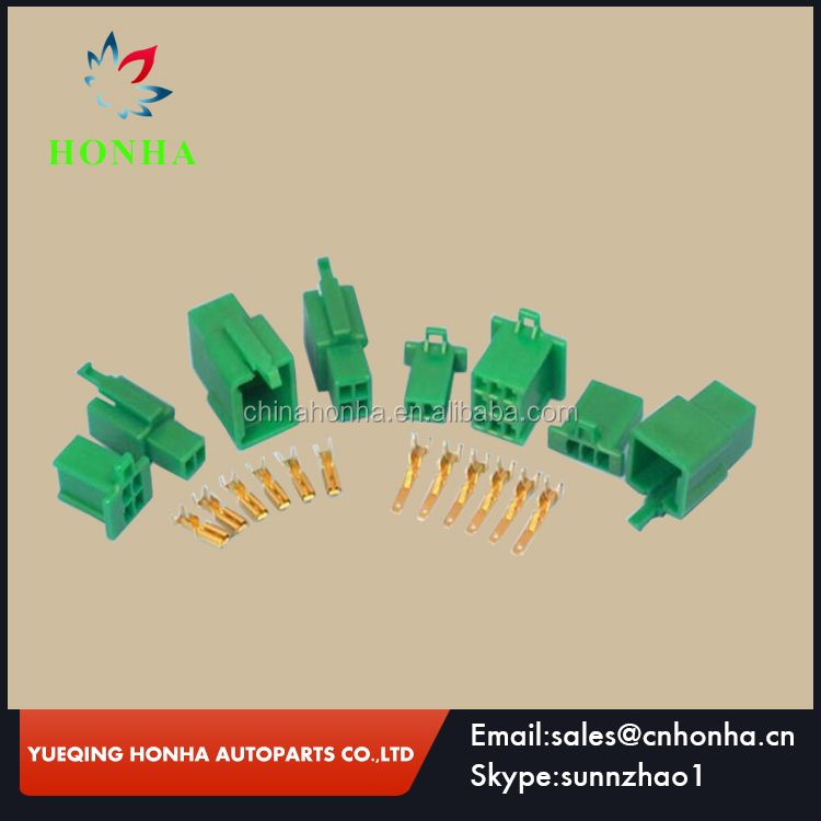 High Quality 2.8mm Green Mini Connector Kits 2 3 4 6 9 Way Motorbike Motorcycle Car