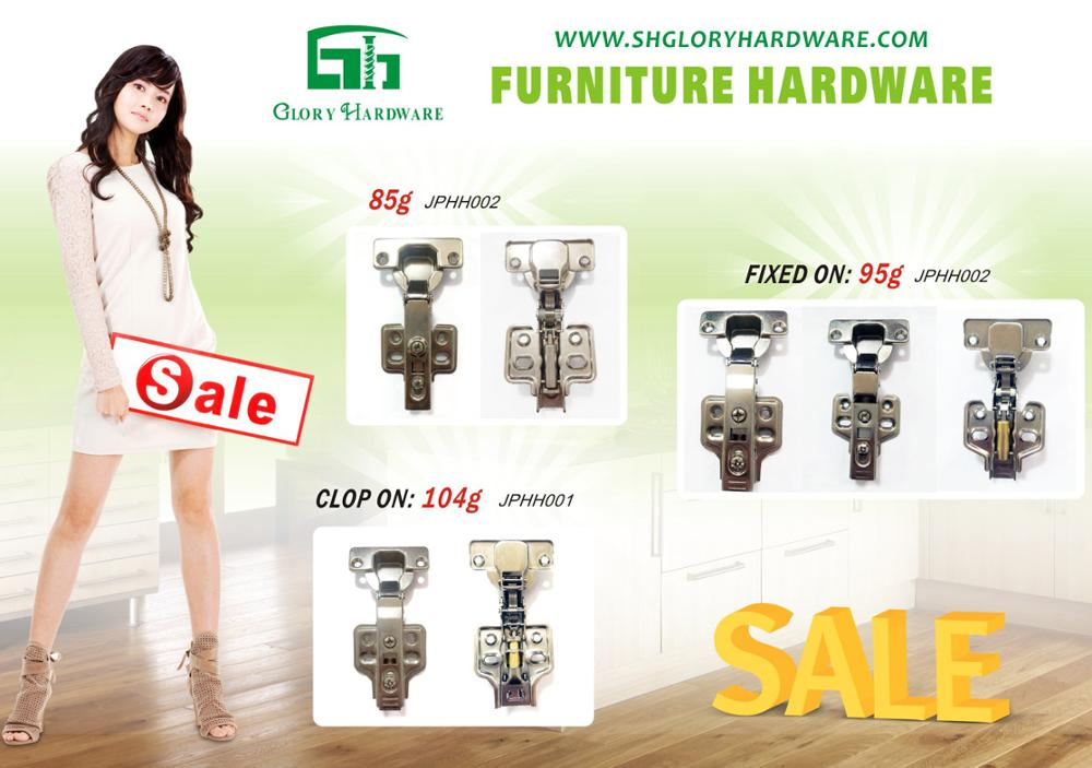 105 Degree furniture hardware hydraulic slide hinge