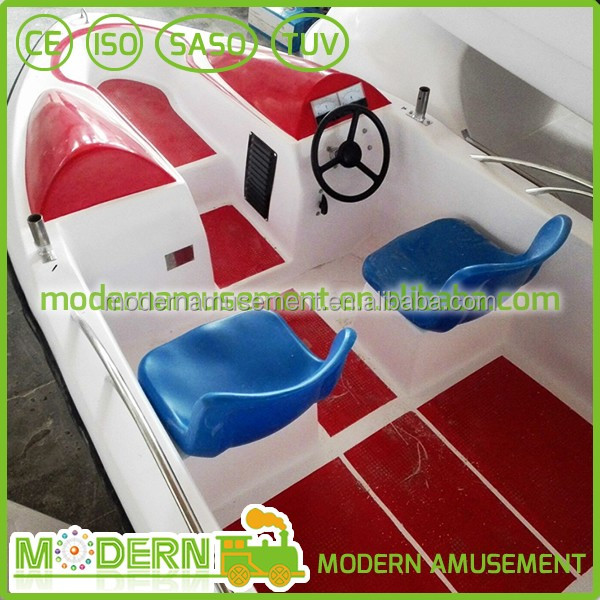 fiberglass electric water jet catamaran fishing boat