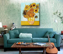 Sunflower Oil Painting Reproductions Van Gogh Painting