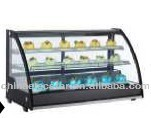 countertop refrigerated display,shop display showcase,bakery cold dislay equipment