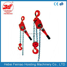 China HSH series 1.5ton,6m lifting lever chain hoist,pull lift chain hoist