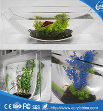 Factory sale of Modern Tabletop acrylic U Fish Tanks