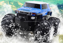 Super Powerful RC Amphibious Off-road Vehicle Remote Control Rechargeable Cross Country Drifting Toy Car