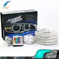 For bmw e92 bodykit 105mm rgb led angel eyes colors car accessories guangzhou