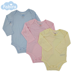 The Top Design Organic Cotton Baby Rompers 3 Pieces Set Baby Clothes
