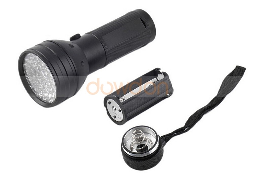 AA 395nm 5W Scorpion Detector Hunter Finder Ultra Violet 51 UV LED Flashlight