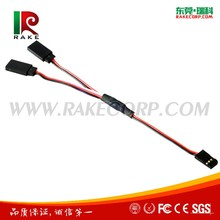 J-003 22AWG/26AWG JR/Futaba Rc Servo Extension Cable Servo Straight Y Extension Wire