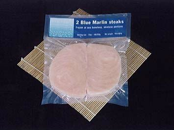 FROZEN MARLIN STEAKS
