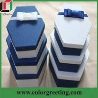 luxury fabric packaging gift box fancy paper chocolate gift packaging box decorative more style shaped boxes luxury