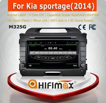 HIFIMAX Android 4.4.4 for kia sportage radio dvd cd gps for kia sportage car dvd gps navigation system for Kia Sportage