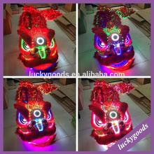 remote control hot sale festival lion costume with LED light