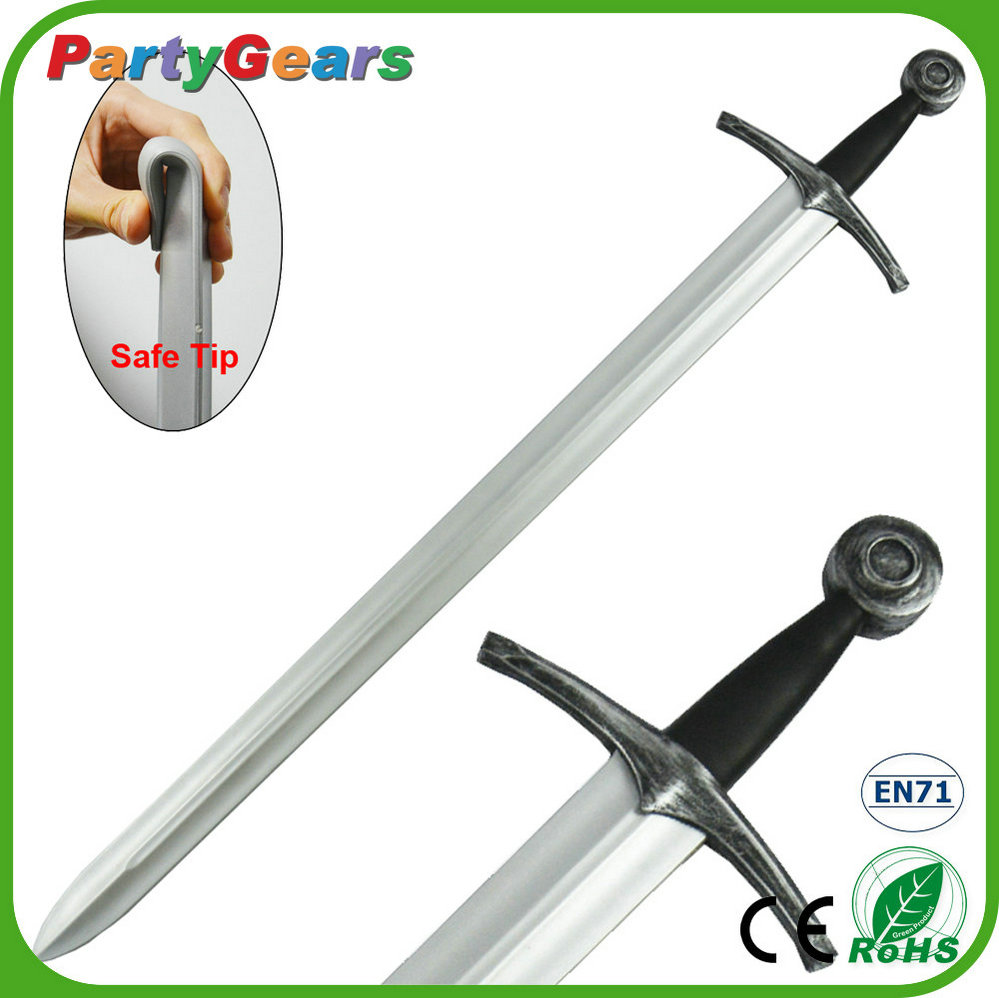 Safe and Realistic LARP_gear Cosplay PU Foam Viking Sword Replica Weapon