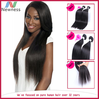 7a Raw Hair Material 100% virgin brazilian hair bundles straight