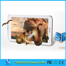 7inch Sanei G708 3G Phone Call Android 4.2 MTK8312 GPS Tablet PC