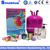 22.4L Disposable helium gas cylinder for balloon 1.2mm thickness