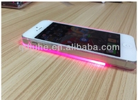LED transparency plastic sublimation phone case for iphone 4/5