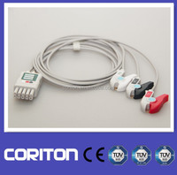 Datascope 3 lead ECG cables Compatible Mobility Lead Set For Passport V