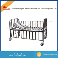 Wholesale portable stainless steel folding medical toddler bed