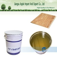 Good leveling,matt and fast curing, High glossy UV varnish for PVC imitation marble sheet