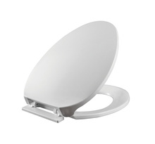 White Square UF Toilet Seat and Cover with Soft Close Urea Ceramic soft close toilet seat cover wc bathroom toilet seat