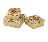 Gift box design with handle best choice for gift packing