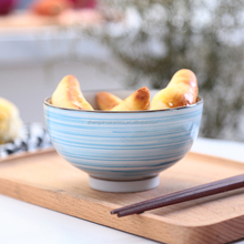Beautiful colorful personalized ceramic porcelain soup bowl, rice bowls
