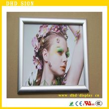 A2 Metal Slim Picture Aluminum Snap Led Light Photo Frame