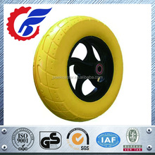 Polyurethane foam wheel 4.80/4.00-8 foam filled wheel pu foam rubber wheels