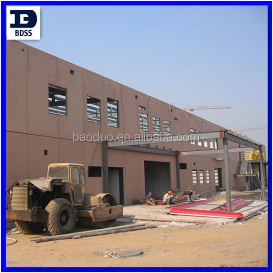 BDSS prefabricate two storey building
