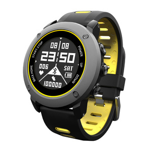 1.2 Inch waterproof wearable wrist sports gps smart watch for ios or android