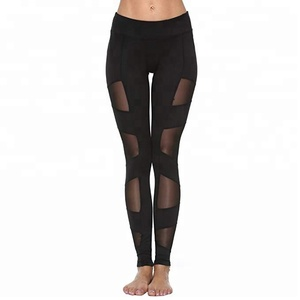 Fancy design workout girls yoga wholesale leggings capris for women