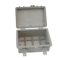 IP66 ABS waterproof Plastic Electronic Enclosure /Outdoor Sealed Box With Hinges HPE059