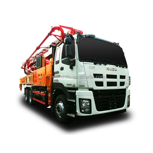 new 47m SANY portable concrete pump