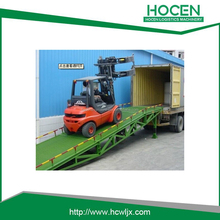 Loading Ramp Hydraulic Lift Unloading Equipment Ramp Loading Portable Car Ramp