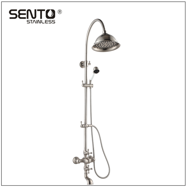 China design bathroom stainless steel rain shower faucet
