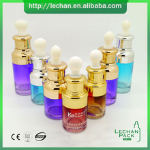 black amber clear green blue matte e liquid perfume glass bottle 30ml essential oil ejuice glasss dropper bottle with paper tube